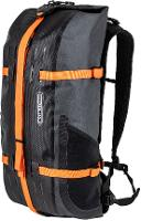 ORTLIEB Atrack 25 Rucksack Bikepacking grau/orange 25 l.